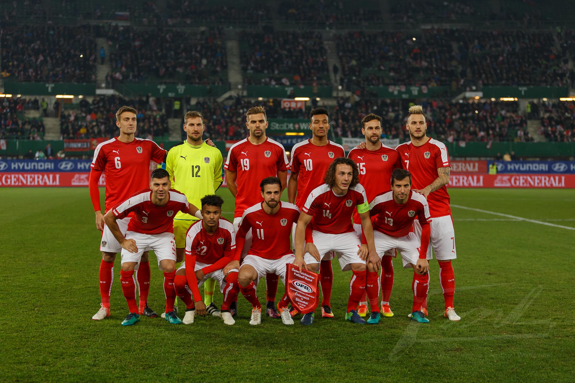 Österreich gegen Slowakei 2016 – 1
