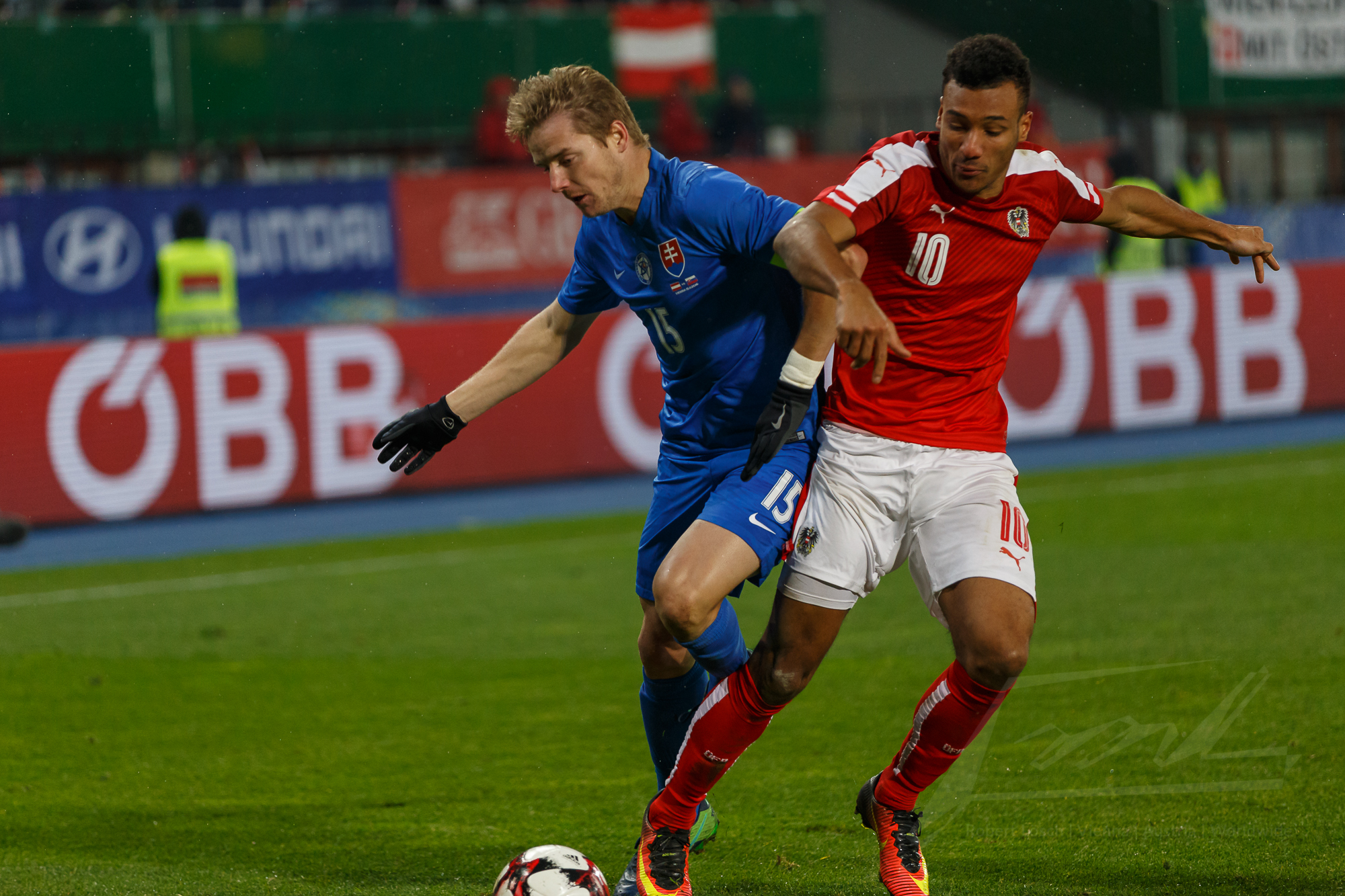 Österreich gegen Slowakei 2016 -16
