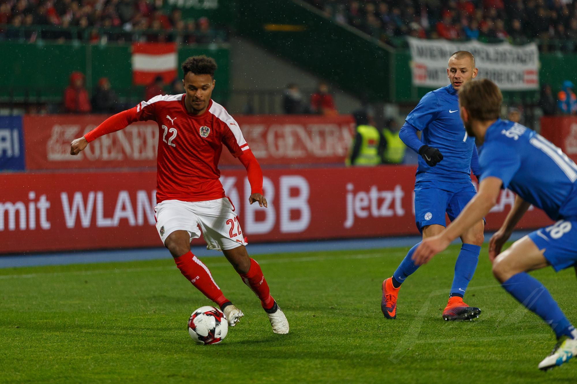 Österreich gegen Slowakei 2016 -18
