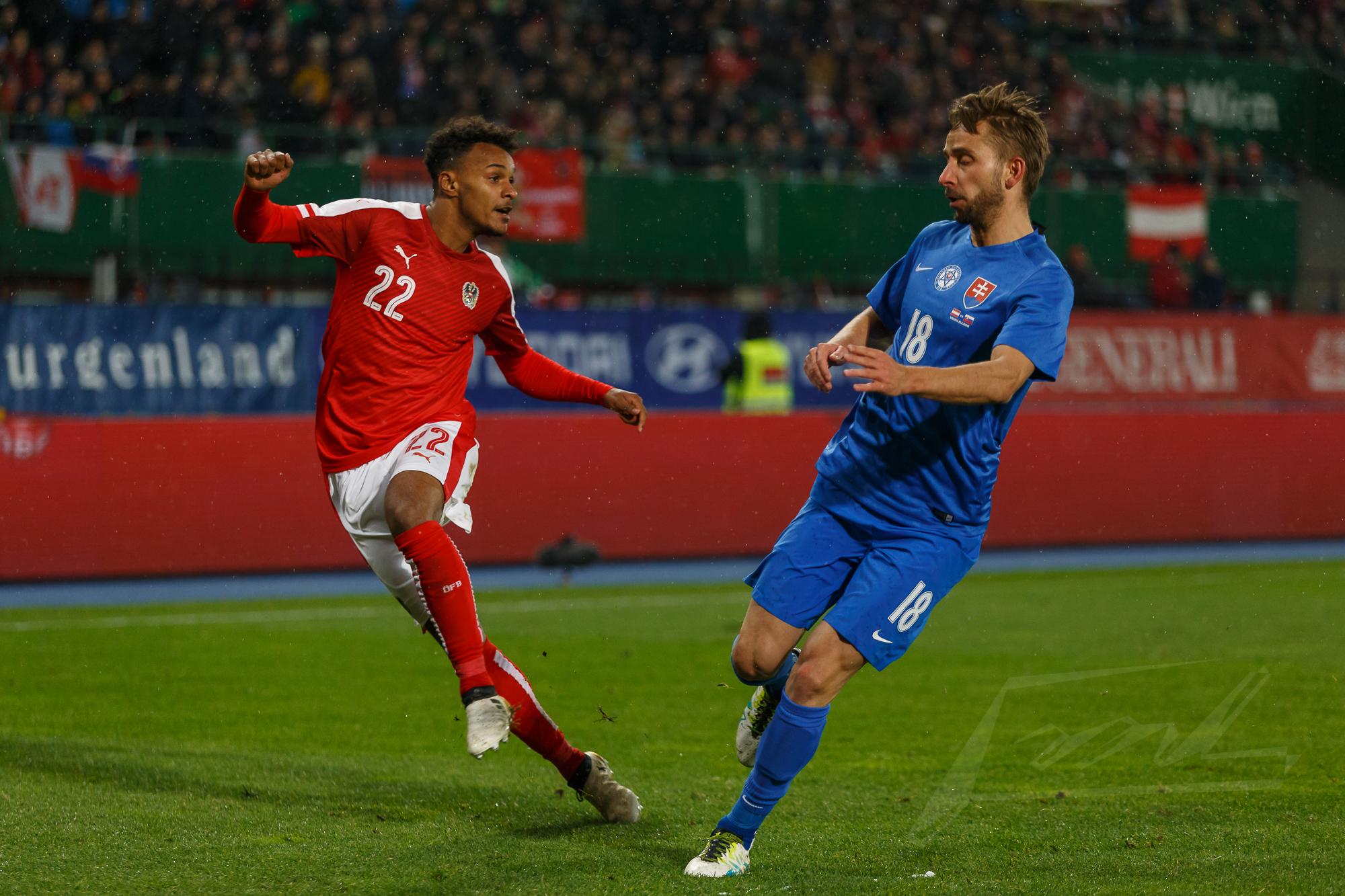 Österreich gegen Slowakei 2016 -19
