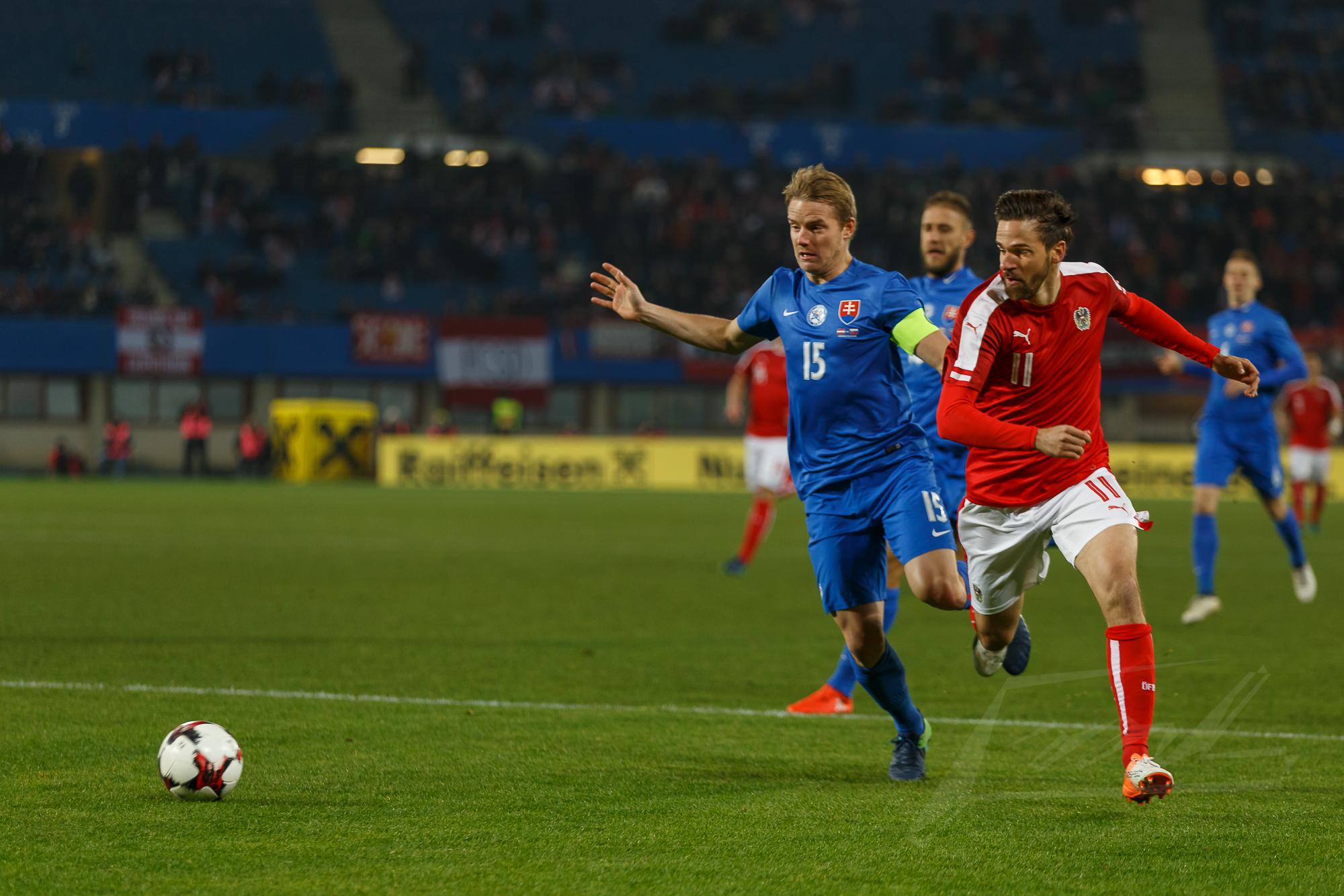 Österreich gegen Slowakei 2016 -2