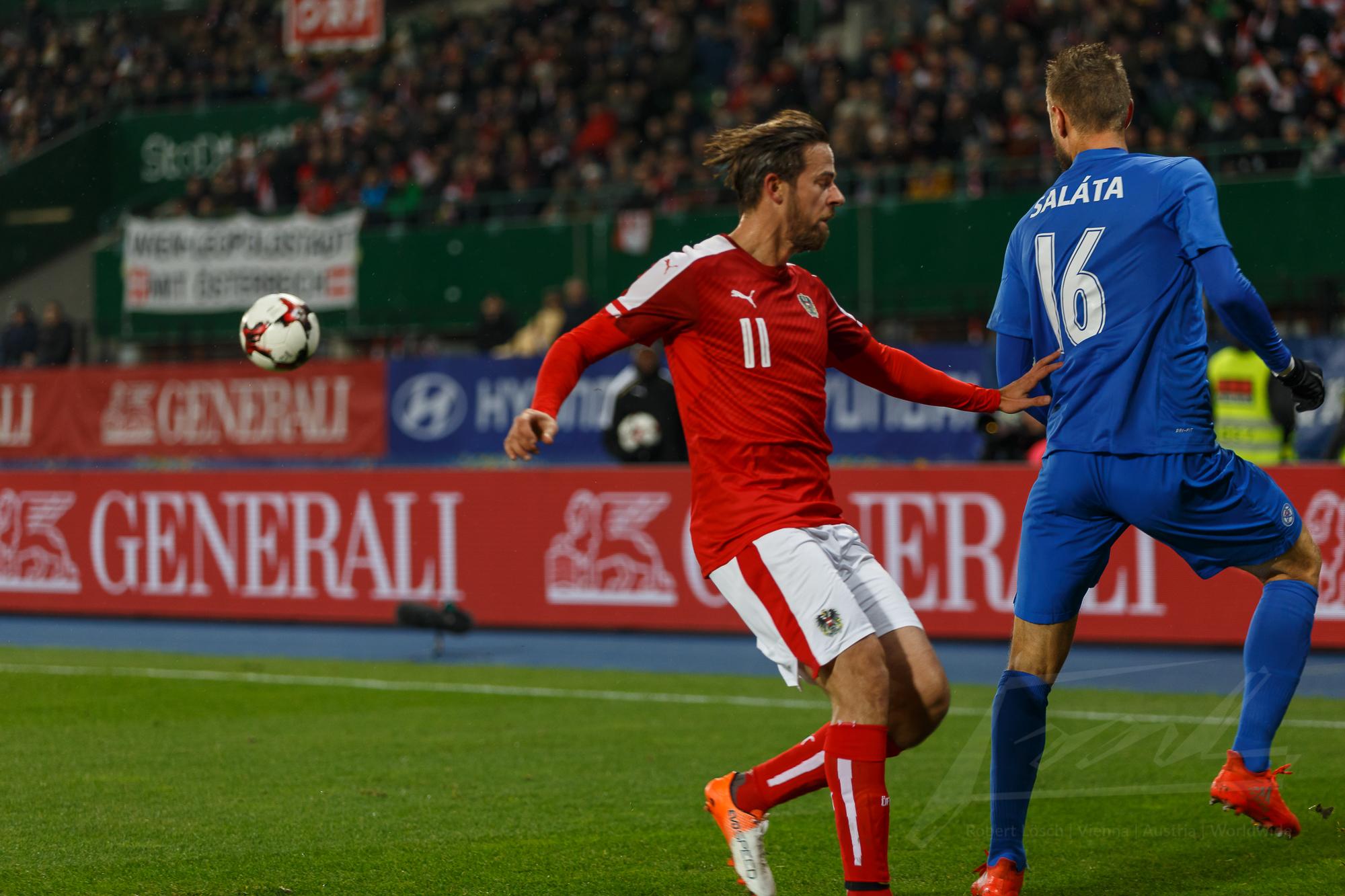 Österreich gegen Slowakei 2016 -5