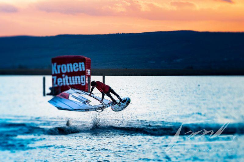 Surf Weltcup 2021 Neusiedler See, Sam Esteve © Robert Lösch
